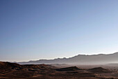 Morning atmosphere in the desert, Machtesch Ramon, Negev Desert, Israel