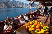 Musandam Peninsula. Oman. Persian Gulf. Arabia. Middle East