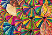 Peru, Miraflores, Indian Market, Lima, bags, colourful, hand made, Peruvian crafts, colorful, display, local, woven, crafts, souvenirs, South America, nobody, horizontal