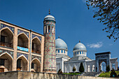 Kukeldash Medressa, Tashkent, Uzbekistan, Central Asia, Asia, architecture, city, domes, famous, history, medresa, madrasa, skyline, touristic, travel
