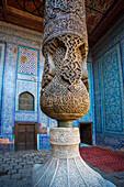world heritage, Itchan Kala, Harem, Khiva, Khorezm, Region, Tosh Hovli, Uzbekistan, Central Asia, Asia, architecture, city, column, history, touristic, travel, unesco