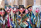 world heritage, Khiva, Khorezm, Region, Uzbekistan, Central Asia, Asia, colourful, crafts, dolls, local, traditional