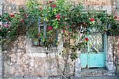 House with Roses, Krini, Corfu