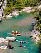 water sports, Verdon Gorge, Provence, France