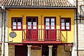 Old building in the historic part of Aviles, Asturias, Spain, Europe