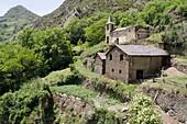 Noris village  Lerida Pyrenees  Pallars Sobira, Lerida, Catalonia, Spain