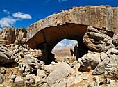 Kfardebian natural bridge near Faqra, Lebanon, Middle East, West Asia