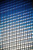 Glass Front of Tall Building