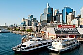Darling harbour and Central Business District high rise architecture, Sydney, Australia