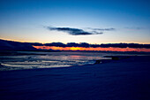 Sunset on Spitzbergen, Svalbard, Norway
