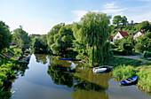 Havel, Hanseatic City Havelberg, Saxony-Anhalt, Germany