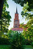 Sankt-Marien-Andreas Church on Kirchberg, Rathenow, Brandenburg, Germany