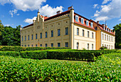 Nennhausen palace, Nennhausen at Rathenow, Brandenburg, Germany