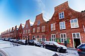 Mittelstrasse in the Dutch Quarter, Potsdam, Brandenburg, Germany