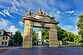 Jaegertor, Hegel Promenade, Potsdam, Brandenburg, Germany
