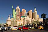 New York New York Hotel, Strip, South Las Vegas Boulevard, Las Vegas, Nevada, USA