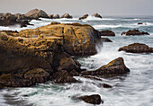 Rock coast at Point Lobos State Natural Reserve, Carmel by the Sea, California