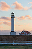 Point Arena Lighthouse and Museum, Arena Rock Marine Natural Preserve, California, United States