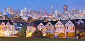 Victorian houses at Alamo Square, San Francisco, California, USA