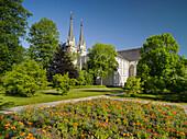Stift Admont, garden, Ennstal, Styria, Austria