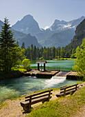 Schiederweiher, Spitzmauer, Great Priel, Upper Austrian Limestone Alps, Upper Austria, Austria