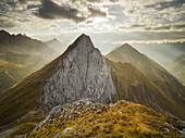 Falschkogel, Steinjochl, Hahntennjoch, Lechtaler Alps, Tyrol, Austria