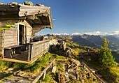 Hut on the Kitzbüheler Horn, Kitzbüheler Alps, Tyrol, Austria