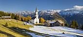 Church Marterle, Rangersdorf, Mölltal, Kreuzeckgruppe, Hohe Tauern, Carinthia, Austria