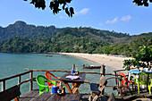 Yao beach, west coast, Ko Muk, Andaman Sea, Thailand, Asia