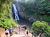 Waterfall in Khao Yai National Park, center of Thailand, Thailand