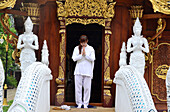 Meditation course in Wat Ram Poeng, Chiang Mai, North-Thailand, Thailand
