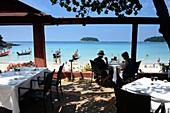 Restaurant: The Boathouse, Kata Yai Strand, Island Phuket, South-Thailand, Thailand