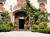 Entry to Schlossgut Bernried, Starnberger See, Bavaria, Germany