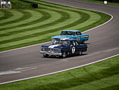 Ford Falcon Sprint, Shelby Cup, Goodwood Revival 2014, Racing Sport, Classic Car, Goodwood, Chichester, Sussex, England, Great Britain