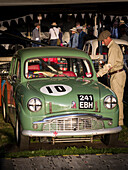 1958 Standard Ten, Goodwood Revival 2014, Racing Sport, Classic Car, Goodwood, Chichester, Sussex, England, Great Britain
