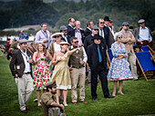 Visitors, Goodwood Revival 2014, Racing Sport, Classic Car, Goodwood, Chichester, Sussex, England, Great Britain