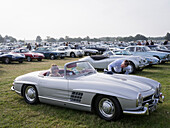 Mercedes-Benz SL300 Roadster, Goodwood Revival 2014, Racing Sport, Classic Car, Goodwood, Chichester, Sussex, England, Great Britain