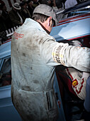 Mechanic, Goodwood Revival, racing, car racing, classic car, Chichester, Sussex, United Kingdom, Great Britain