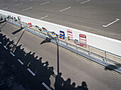 Pit lane, 72nd Members Meeting, racing, car racing, classic car, Chichester, Sussex, United Kingdom, Great Britain