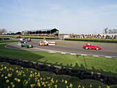 Threlfall Cup, 1958-1960 front engined Formula Junior racing cars, 72nd Members Meeting, racing, car racing, classic car, Chichester, Sussex, United Kingdom, Great Britain