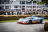 1971 Porsche 917K, Goodwood Festival of Speed 2014, racing, car racing, classic car, Chichester, Sussex, United Kingdom, Great Britain