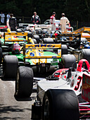 Formula 1 racing cars, Hillclimb Top Paddock, Goodwood Festival of Speed 2014, racing, car racing, classic car, Chichester, Sussex, United Kingdom, Great Britain