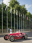 1932 Maserati 8C-3000, Goodwood Festival of Speed 2014, racing, car racing, classic car, Chichester, Sussex, United Kingdom, Great Britain
