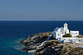 Eftamartyres Church on the greek island Sifnos (Syphnos), Aegean, Cyclades, Greece