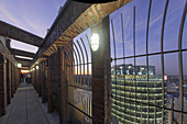 Panoramic View from Kollhoff Tower towards Sony Center, DB tower, Leibziger Platz, Potsdamer Platz, Berlin, Germany