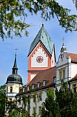 Abbey church in Scheyern near Pfaffenhofen, Upper Bavaria, Bavaria, Germany