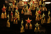 Handmade festive, Christmas decorations, Manila, Luzon, Philippines, Asia