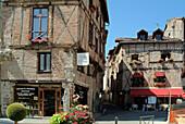 Europe, France, Lot, Cahors , Street Lastié.