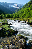 France, Midi Pyrenees, Ariege, Couserans, river of Garbet