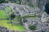 Inca ruins at Machu Picchu in Peru,South America